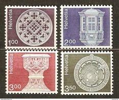 Zu 610-613 / Mi 1035w+1038w+1160+1169 / YT 968a+971a+1090-1091 Série Complète ** / MNH Voir Description - Zwitserland