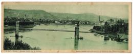 CP 69 Rhône Givors, Pont Sur Le Rhone - N° B287 - édition Chocolat Cantaloup-Catala - Format 9.5 X 23 Cm - Givors