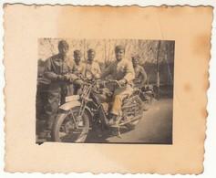 MOTO MOTORCYCLE GUZZI? REGIO ESERCITO ITALIANO - PICCOLA FOTO ORIGINALE - Photos