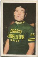 Coureur - Wielrenner  *  Chromo Vignette Jan Adriaenssens - Willebroek 1932 - Team Sinalco - Groene Leeuw - Simplex - Cycling