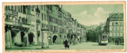 CP 57 Moselle Metz, Place St Louis - N° B229 - édition Chocolat Cantaloup-Catala - Format 9.5 X 23 Cm - Metz
