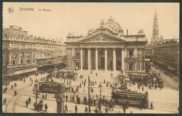 CP.Bruxelles-BRUXELLES (ex-Collection DE BAST) - Bruxelles La Bourse  + 2 TRAMWAYS Des Boulevards Centraux - 14996 - Bruxelles-ville