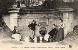 LUXEUIL LES BAINS - FONTAINE D'HYGIE - Luxeuil Les Bains