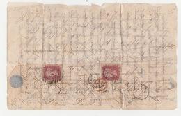 Après Le Siège De Paris 1870 1871 Lettre Origine Jersey    Timbres Britannique Lettre Fragile Papier  Pelure - 1870 Siège De Paris