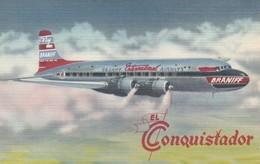 "BRANIFF ""El Conquistador"" Airplane , 30-40s - 1946-....: Modern Era"
