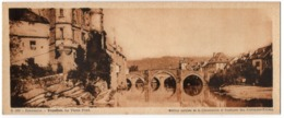 CP 12 Aveyron Espalion, Le Vieux Pont - N° B369 - édition Chocolat Cantaloup-Catala - Format 9.5 X 23 Cm - Espalion