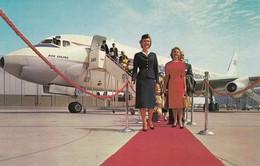 Scandinavian Airlines System (SAS) Dc-8 Jet , 50-60s - 1946-....: Ere Moderne