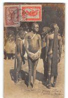 CPA Carte Photo Auguste Bechaud - Jeunes Filles  - Oubangui Chari - Zentralafrik. Republik