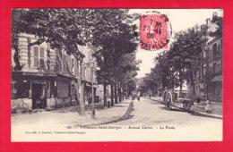 F-94-Villeneuve Saint Georges-07A09  Avenue Carnot, La Poste, Cpa BE - Villeneuve Saint Georges