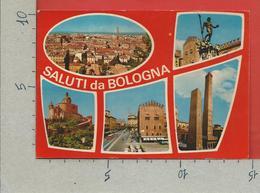 CARTOLINA VG ITALIA - Saluti Da BOLOGNA - Vedutine Multivue - 10 X 15 - 1982 - Saluti Da.../ Gruss Aus...