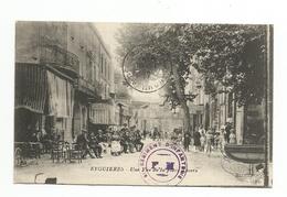 13 - EYGUIERES -- Une Vue De La Place Thiers - Eyguieres