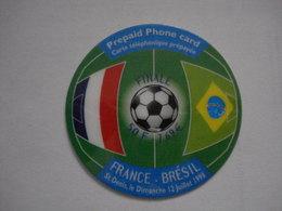 """Carte Prépayée Française  """" Phoneeurope """"  (utilisée Luxe). - France"""