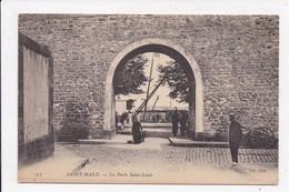 CP 35 SAINT MALO La Porte Saint Louis - Saint Malo