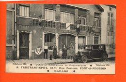54 PONT A MOUSSON - Garage - A. Tristrant-SPITZ, Rue Pasteur - Purfina Automobile - Commerce - Pont A Mousson