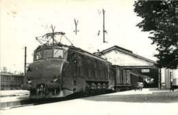 060120 TRANSPORT TRAIN CHEMIN DE FER - PHOTO BREHERET BEGUE - Gare De BLOIS - Blois