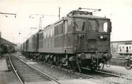 060120 TRANSPORT TRAIN CHEMIN DE FER - PHOTO BREHERET 1956 - Gare Dépôt De BORDEAUX Loco BB-4601 - Bordeaux