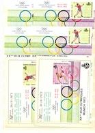 Nrs. E119/E122 + Op Kaart Postgaaf ** - Commemorative Labels