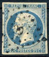 TIMBRE FRANCE N° 10...4 Marges...pour Nuance Et Oblitération - 1852 Louis-Napoléon