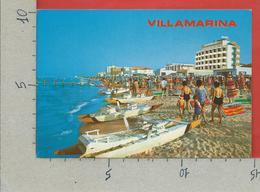 CARTOLINA VG ITALIA - VILLAMARINA DI CESENATICO (FC) - La Spiaggia - 10 X 15 - 1986 - Forlì