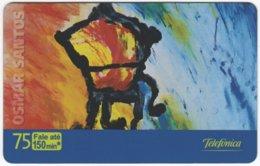 BRASIL K-636 Magnetic Telefonica - Painting, Modern Art - Used - Brasilien