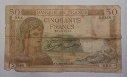 "50 Francs "" Cérès "" Du 30-6-1937 - 50 F 1934-1940 ''Cérès''"