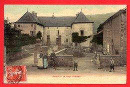 54. Environs De Longwy. Gorcy. Le Vieux Château De La Martinière. Facteur à Vélo. 1908 - Longwy