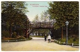 Nijmegen - Hunnerpark Rustieke Brug - 1908 - Nijmegen