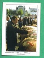 15 Cantal Saint Urcize Foire D ' Aubrac Foire Aux Bestiaux - Francia