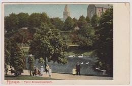 Nijmegen - Vijver Kronenburgerpark - 1907 - Nijmegen