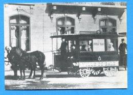 OLI100, Rössli - Omnibus, Basel Um 1885, Repro, GF, Non Circulée - BS Basle-Town