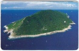 CROATIA C-960 Chip HT - Landscape, Island - Used - Kroatien