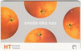 CROATIA C-965 Chip HT - Fruit, Orange - Used - Kroatien