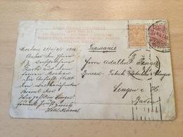 GÄ26291 Russia Russie 1910 AK Von Moskau Nach Singen - Storia Postale