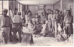 Cpa Dept 07 -  Annonay Mégisseries - Ateliers De Palissonneurs (voir Scan Recto-verso) - Annonay
