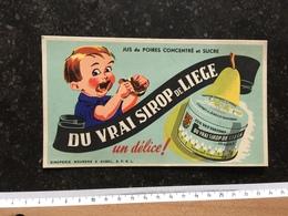 20A/1 - Publicité Siroperie Meuren Aubel Sirop De Liège - Kinder