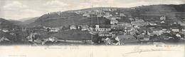 Wiltz / Luxembourg - Panorama De Wiltz - Carte Double C. Bernhoeft 1902 - Wiltz