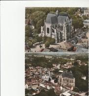 2 CPM:ESSOMES SUR MARNE (02) ÉGLISE ABBATIALE STYLE GOTHIQUE, - France
