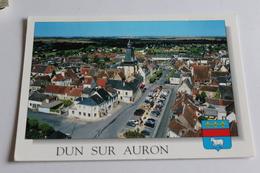 Dun Sur Auron - Vue Aérienne Du Centre Ville - Dun-sur-Auron