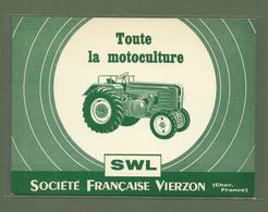 CARTE POSTALE 18 CHER SWL SOCIETE FRANCAISE VIERZON TOUTE LA MOTOCULTURE TRACTEUR - Vierzon