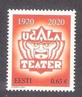 Ugala Theatre 100 2020 Estonia MNH Stamp  Mi 972 - Estland
