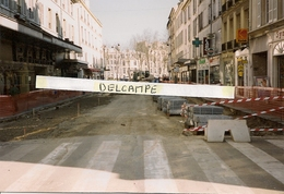 VERSAILLES - Rue Georges Clémanceau -1996 - Photo Sur Support Carte,format Actuel - Versailles