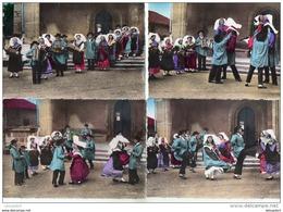 4 CP Limousin  Danses  '' Loi Pélélé '' MEME CORRESPONDANT - Bailes