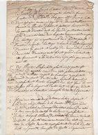 Vieux Papier 1740 - Manuscripts