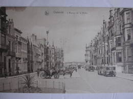 OOSTENDE Ostende : Avenue De La Reine 1927 - Oostende