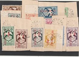 AEF Oblitéré - N° 167 A 190 Sur Fragment Date Lisible Nov 1943 - A.E.F. (1936-1958)