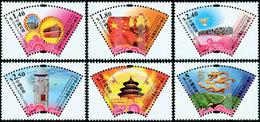 HONG-KONG 60è An. République Chine 09 6v Neuf ** MNH - Ungebraucht