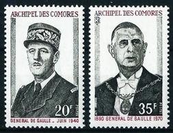 Comores (Francés) Nº 77/8 Nuevo - Komoren (1950-1975)