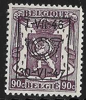 België Typo Nr. 559 Postfris - Typo Precancels 1936-51 (Small Seal Of The State)