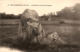 Pont St Martin - Les Menhirs Au Bord De L'Ognon - Thème Monolithe Pierre Menhir Dolmen - Animation - France