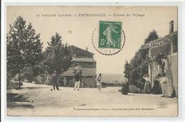 84 Vaucluse Entrechaux Boulangerie Entrée Du Village 1912 Ed Lang Montélimar - France